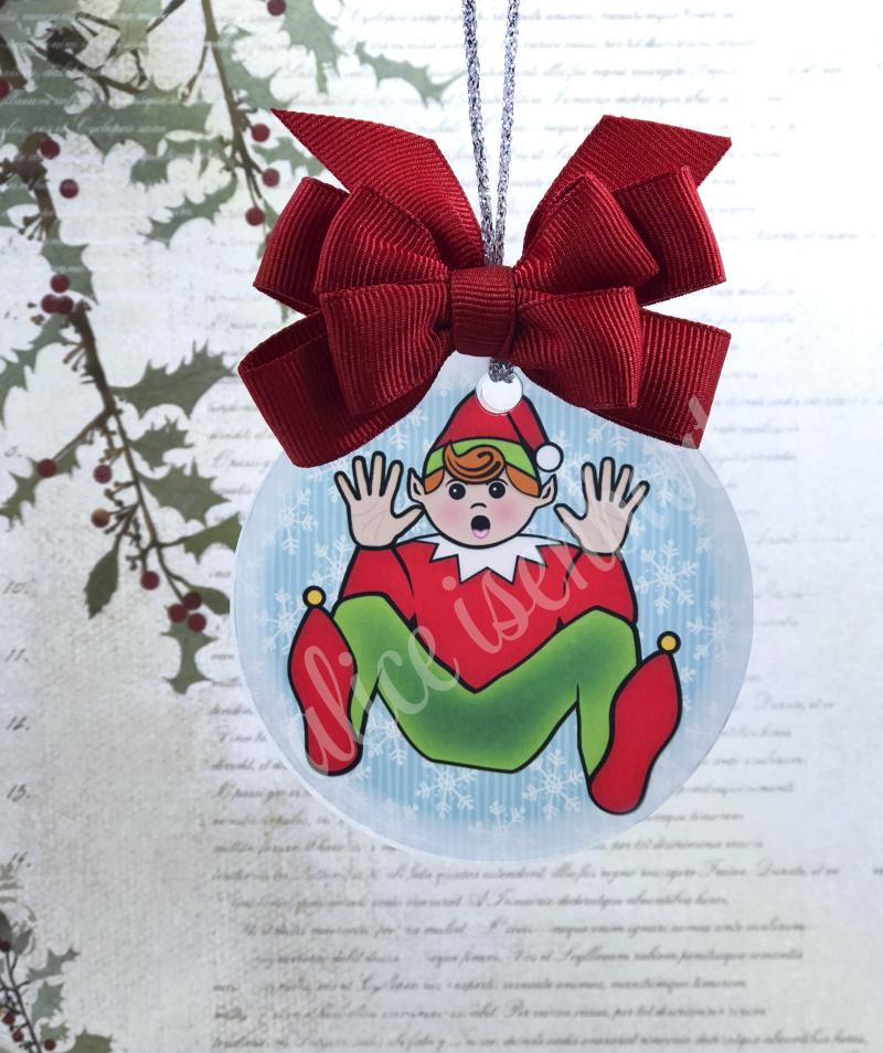 Elf Inside Ornie